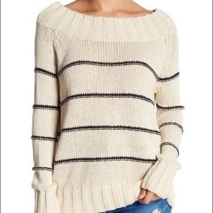 NWT Billabong Off the Shoulder Sweater